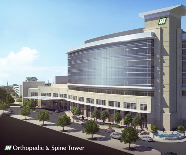 Huntsville Hosptial Orthopedic and Spine Tower